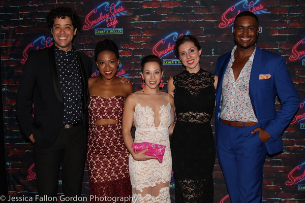 Dan Domenech, Antoinette Comer, Alison Solomon, Bronwyn Tarboton, and Shavey Brown Photo