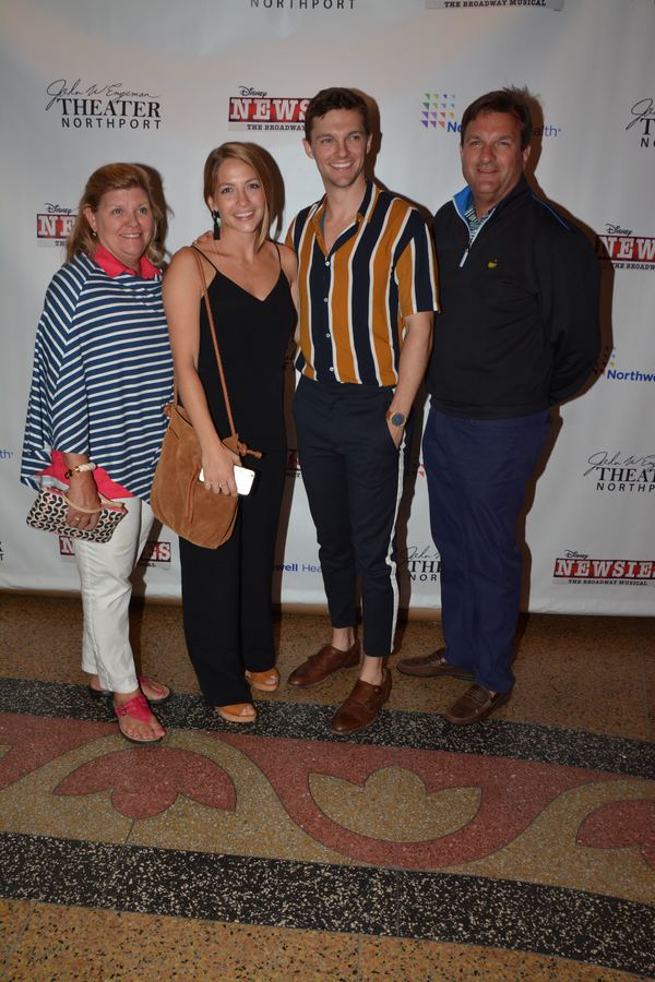 Dan Tracy with Molly Tracy, Julie Sauro and Kevin Tracy