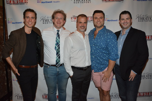 Eric Michael Parker, Charlie Stoop, Tom Lucca, Edward Mische and James Schultz