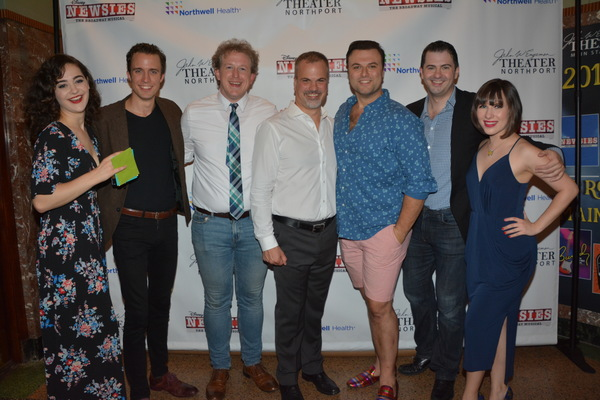 Claire Avakian, Eric Michael Parker, Charlie Stoop, Tom Lucca, Edward Mische, James Schultz and Morgan Harrison