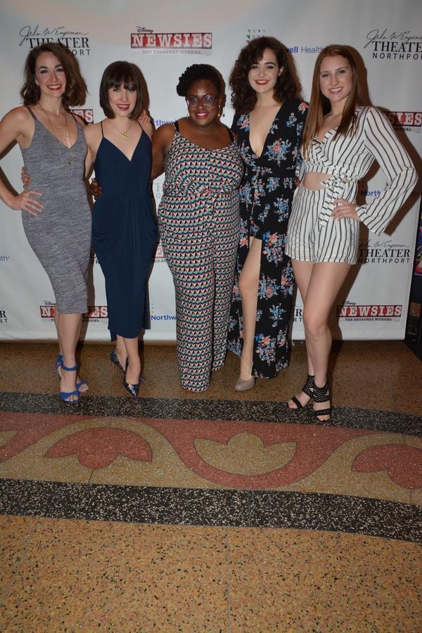 Whitney Winfield, Morgan Harrison, Allyson Kaye Daniel, Claire Avakian and Jean-Marie Neave