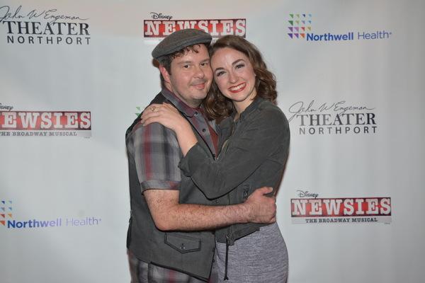 Kurt Alger and Whitney Winfield