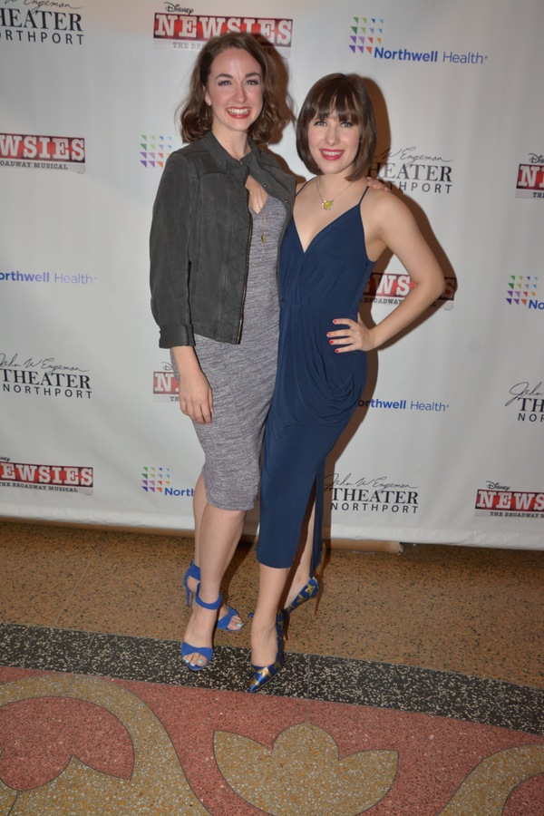 Photo Coverage: The Cast of NEWSIES at The John W. Engeman Theater Northport Celebrates Opening Night