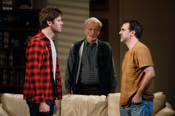 Photo Flash: First Look at Armie Hammer, Josh Charles & More in STRAIGHT WHITE MEN on Broadway!