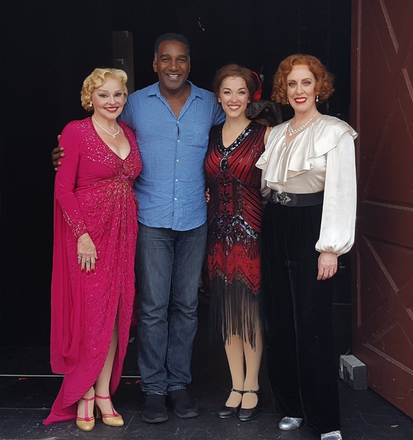 Photo Flash: Norm Lewis Pays A Visit to 42ND STREET at Bucks County Playhouse