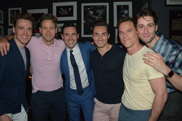 Erich Bergen, Christopher J. Janke, Max Von Essen , Scott Nevins, Mike Doyle and Daniel Rown
