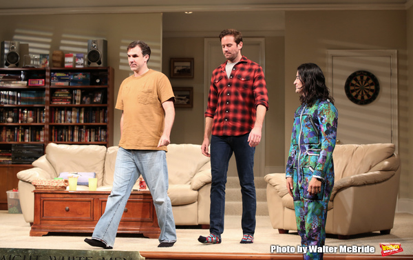 Photo Coverage: The Cast of STRAIGHT WHITE MEN Takes Their Opening Night Bows