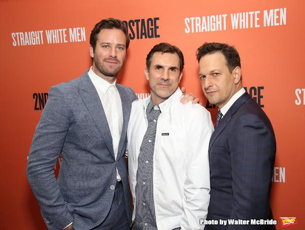 Armie Hammer, Paul Schneider and Josh Charles Photo