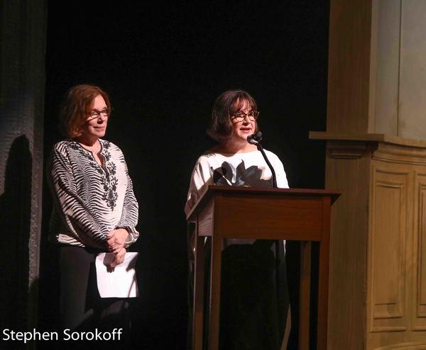 Julianne Boyd & Marita O'Dea Glodt, Board President Photo