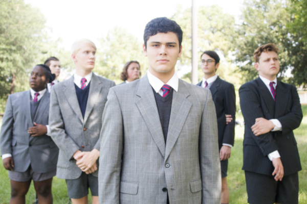 Alex Kerry (Melchior) and the boys of Spring Awakening Photo