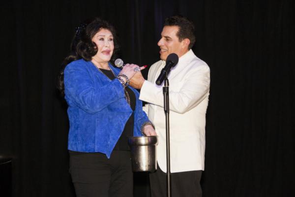 Co-Executive Producer, Barbara Van Orden with Co-Executive Producer and Creator, Mich Photo