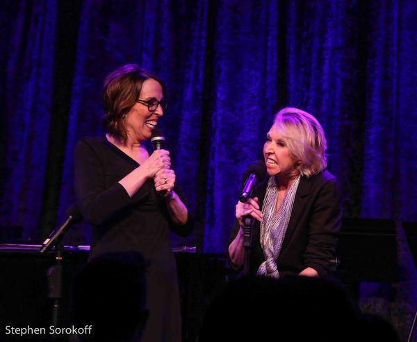 Susie Mosher & Julie Halston