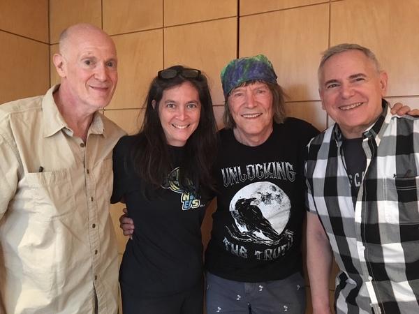 Neil Meron, Diane Paulus, James Rado, Craig Zadan Photo