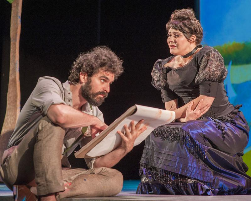 BWW Exclusive: John Bambery Paints the Town in SUNDAY IN THE PARK WITH GEORGE and Recalls His Visit with Chita Rivera