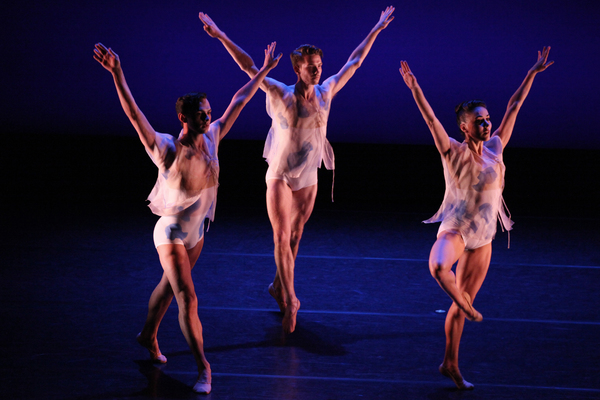 Pam Tanowitz Dance's Blueprint with Victor Lozano, Patricia Delgado and Jason Collins Photo