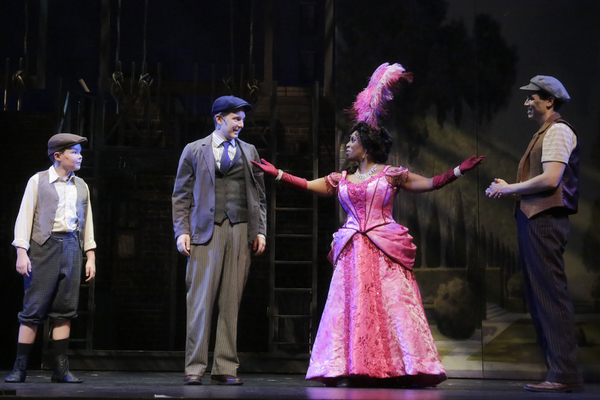 Huck Borden as Les, Daniel Plimpton as Davie, Yolanda W. Rabun as Medda Larkin, and J Photo