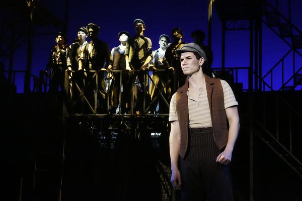 Photo Flash: First Look at NC Theatre's NEWSIES Starring Jason Gotay
