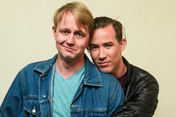 Micah Kronlokken (left), Jude Hansen (right). Photo by Paul Goyette. Photo