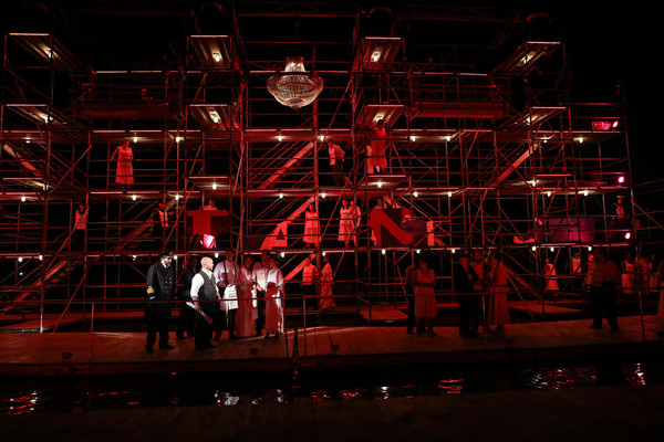 Photo Flash: Board Serenbe's Sinking Ship with a First Look at TITANIC