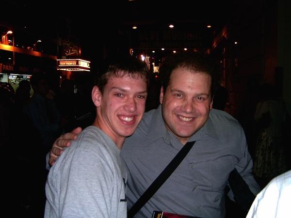Ben with Jordan Gelber Photo