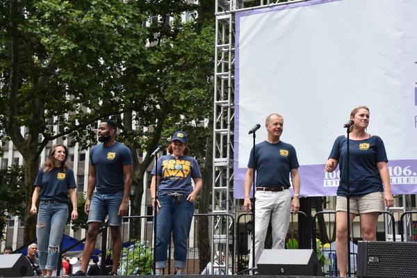 Photo Coverage: THE BAND'S VISIT, COME FROM AWAY, KINKY BOOTS and More Take the Stage at Broadway in Bryant Park