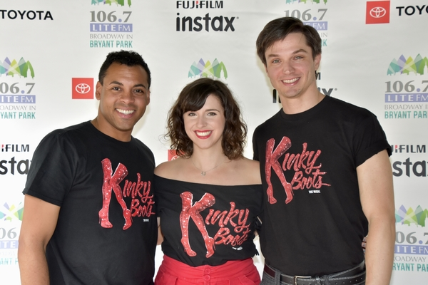 From Kinky Boots-Stephane Duret, Mia Gentile and John Jeffrey Martin