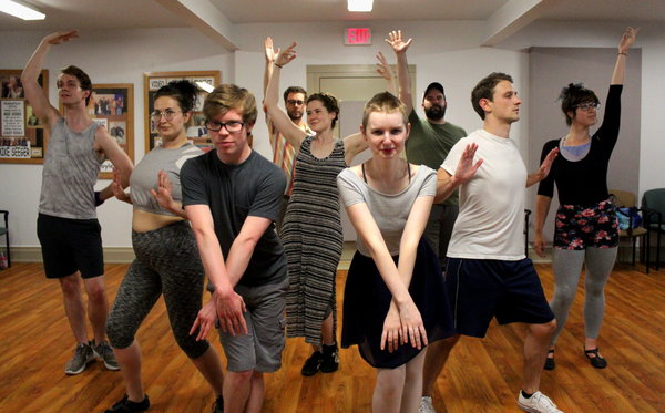 Photo Flash: Parkway Playhouse Prepares for GODSPELL