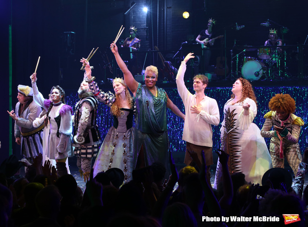 Photo Coverage: The Cast of HEAD OVER HEELS Takes Their Opening Night Bows