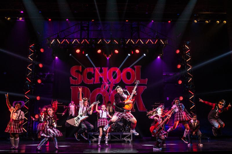 BWW Review: Endearing and Fun SCHOOL OF ROCK Surprises at Segerstrom Center