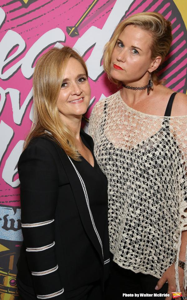 Samantha Bee and Allana Harkin