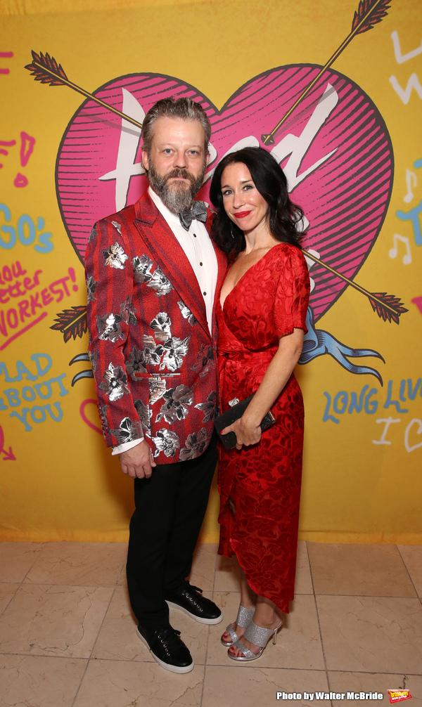 Jeremy Kushnier and Jenny Lee Stern