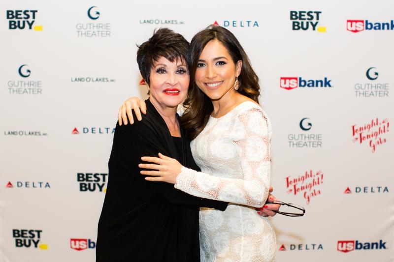 Ana Isabelle and Chita Rivera