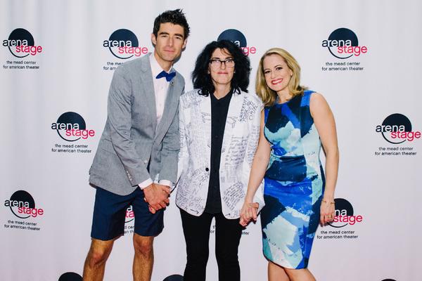 Drew  Gehling,Tina  Landau  and  Mamie  Parris