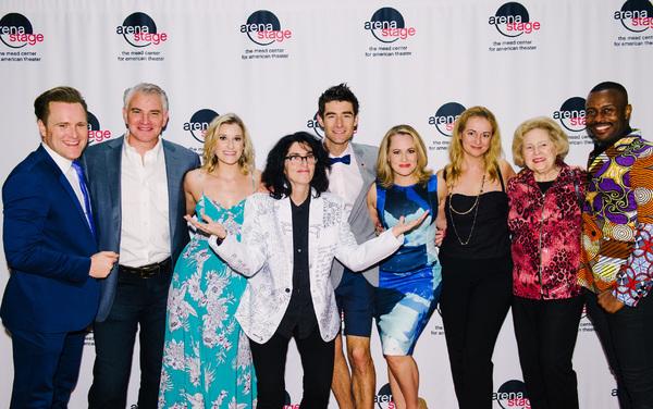 Photo Flash: Drew Gehling, Mamie Parris, Tina Landau and More Celebrate Opening Night of DAVE at Arena Stage