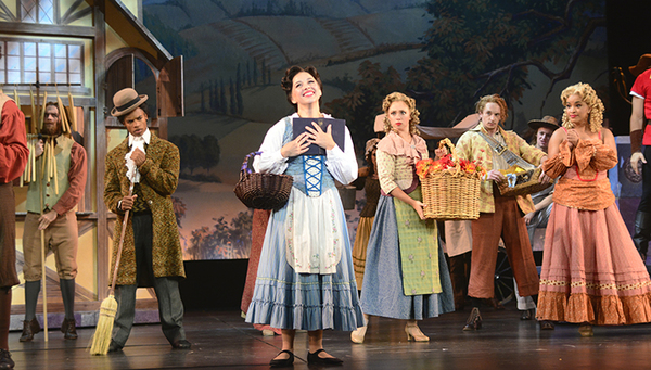 Photo Flash: First Look at James Snyder and Jessica Grové in BEAUTY AND THE BEAST at Pittsburgh CLO