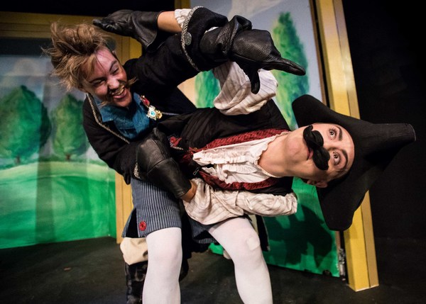 Photo Flash: THE LADY DEMANDS SATISFACTION from Babes With Blades Theatre Company