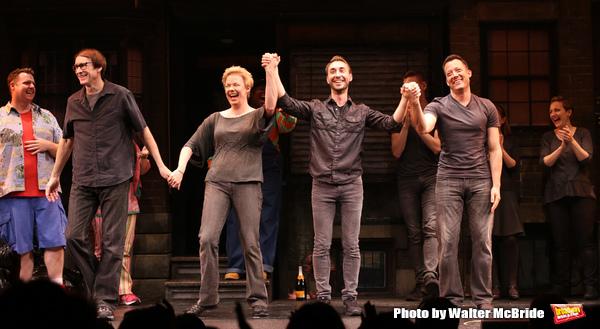 Exclusive Photo Coverage: Stephanie D'Abruzzo, Rick Lyon, Jennifer Barnhart and John Tartaglia Join the Cast of AVENUE Q
