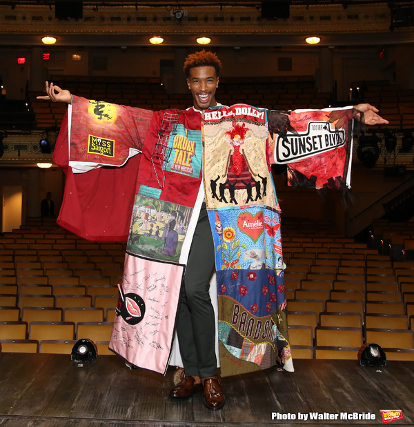 Photo Coverage: Inside the Legacy Robe Ceremony for HEAD OVER HEELS