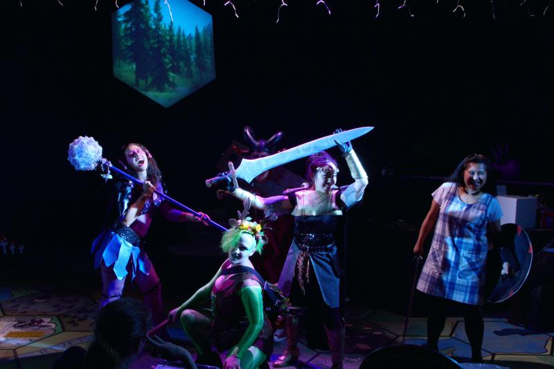 BWW Review: Theater Schmeater's Inconsistent and Chaotic SHE KILLS MONSTERS