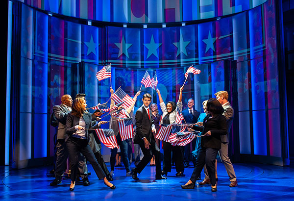 BWW Review: Optimism Abounds in World Premiere of DAVE at Arena Stage