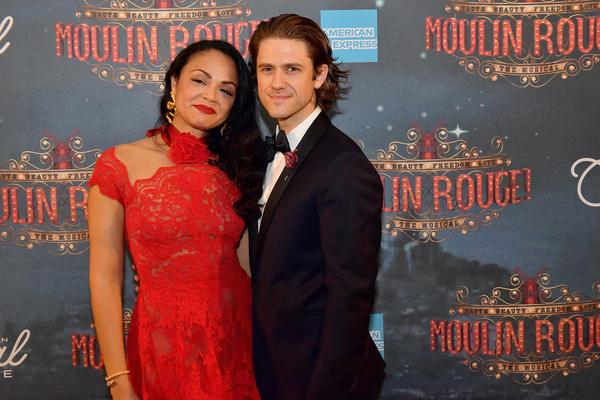 Karen Olivo and Aaron Tveit