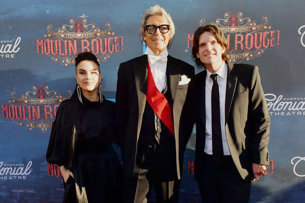 Sonya Tayeh, Tommy Tune, and Alex Timbers Photo