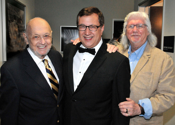 Photo Flash: ANNIE Composers Charles Strouse and Michael Charnin Pay A Visit Backstage at the Hollywood Bowl