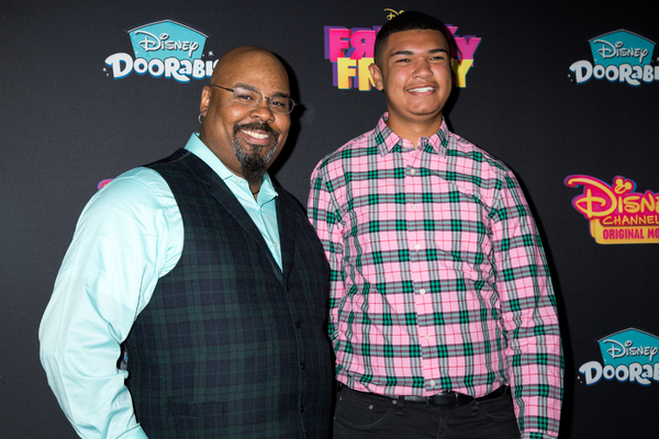James Monroe Iglehart and his nephew