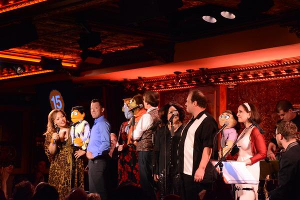 Carmen Ruby Floyd, John Tartaglia, Jennifer Barnhart, Rick Lyon, Jordan Gelber and St Photo