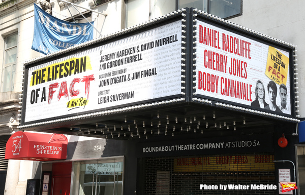 Up on the Marquee: THE LIFESPAN OF A FACT