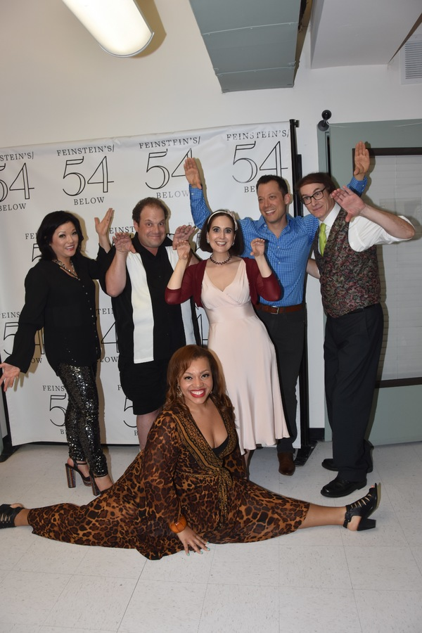 Erin Quill, Carmen Ruby Floyd, Jordan Gelber, John Tartaglia, Stephanie D'Abruzzo and Rick Lyons