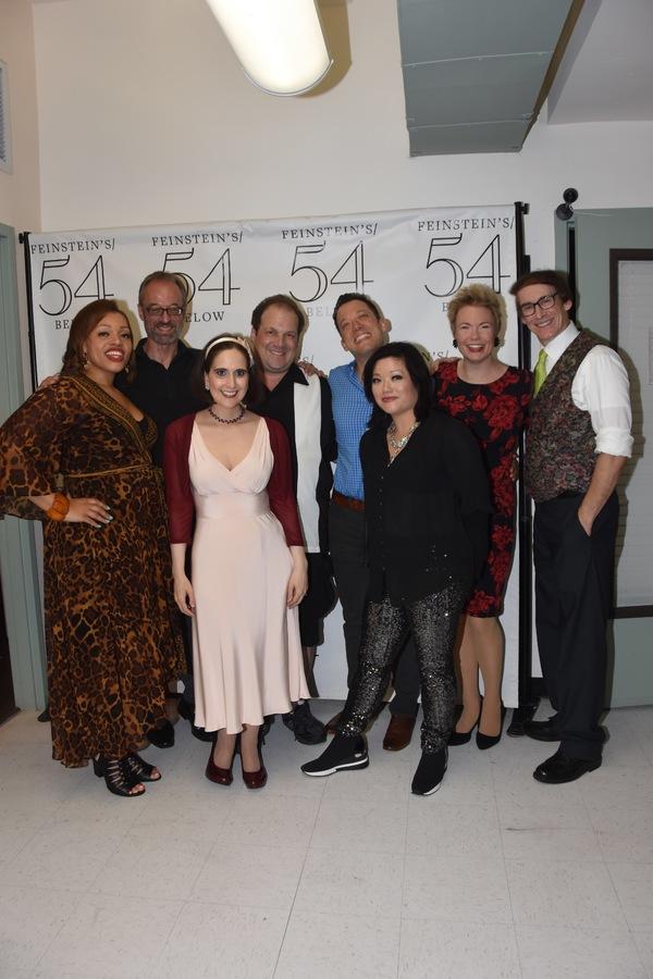 Carmen Ruby Floyd, Gary Adler, Stephanie D'Abruzzo, Jordan Gelber, John Tartaglia, Erin Quill, Jennifer Barnhart and Rick Lyons