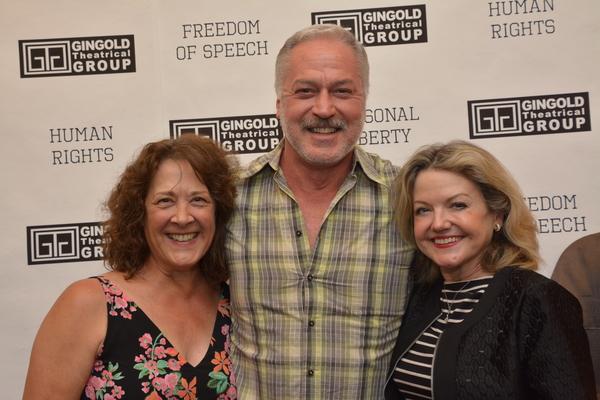 Karen Ziemba, Tom Hewitt and Alison Fraser