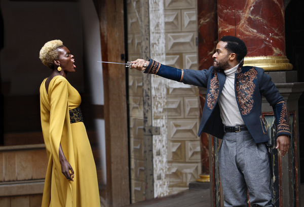 Andre Holland, Sheila Alim  Photo